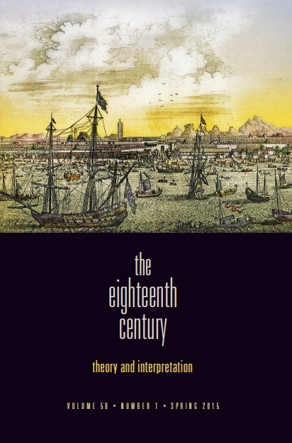 The Eighteenth Century Fall 2019 Volume 60